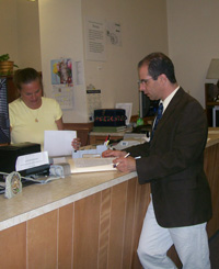 Jim at the Registry of Deeds